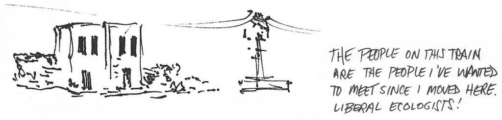 Cinderblock Power Lines