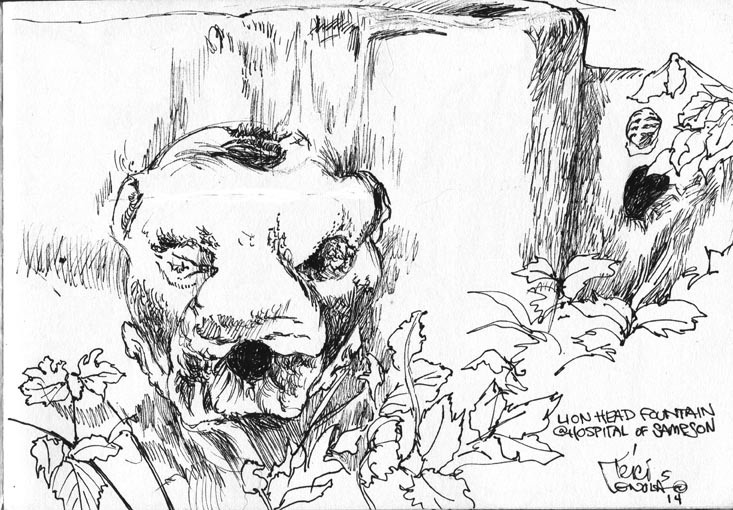 Lion Head Sampson